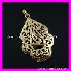 golden plating allah jewelry
