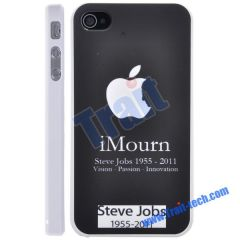 Steve Jobs Hard Case Cover for iPhone 4