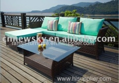 Wicker outdoor sofa furniture