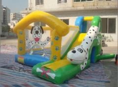 dog water slide jumpers