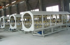HDPE pipe extruding machine