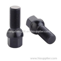 black finishing R14 ball seat lug bolt