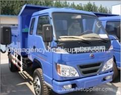Blue 6-8ton Foton Forland dump truck