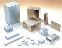 sintered Block rare earth NdFeb magnets