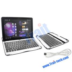 Newly Metal Mobile Bluetooth Keyboard for Samsung Galaxy P7510/ P7500 Tab 10.1