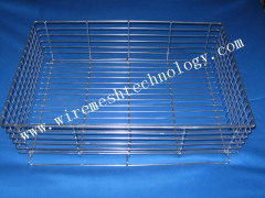 custom stainless steel wire basket