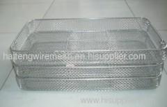 Cross-Wire Sterilization Baskets