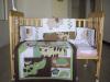 Baby crib set (BQS1106)