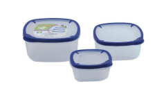 3Pcs Storage Container Set