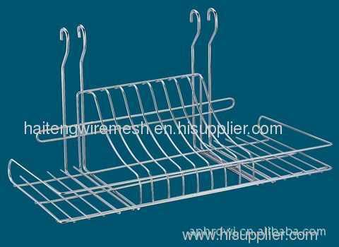 Refrigerator wire shelves