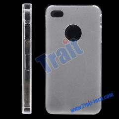 Frosted Hard Case for iPhone 4(White)