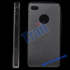 Frosted Hard Case for iPhone 4(Grey)