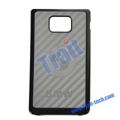 BMW Metal and Plastic Material Back Cover for Samsung Galaxy S2 i9100