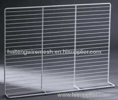 stainless steel refrigerator shelves