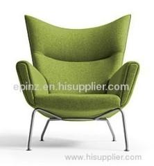 Hans Wegner Wool Wing Chair,wool wing chair