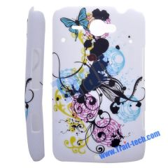 Vine Flower Hard Protective Case Cover for HTC ChaCha G16