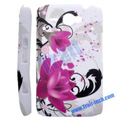 New Flower Hard Protective Case Cover for HTC ChaCha G16