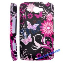 Flower Hard Protective Case Cover for HTC ChaCha G16