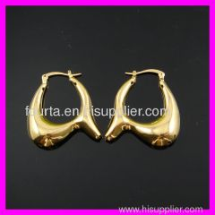 18k gold plated earring 1210398