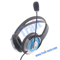 3.5mm Stereo Headphone with Mic & Volume Control