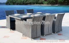 Textile garden furniture