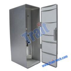 Mini USB Plastic Refrigerator (Silver)