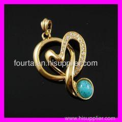 turquoise Jewelry pendant