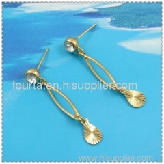 18k gold plated earring FJ 1220341
