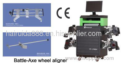 battle-axe wheel aligner