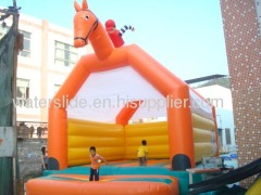 Horse bouncer inflatable bouncer business