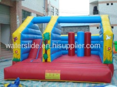 Kids moon bounce slide