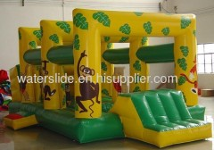 Monkey kids inflatable bouncers