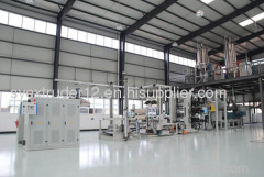 PC hollow corrugated sheet extrusion line