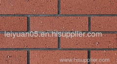 exterior wall tile in clay
