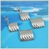platinum Vacuum Plated Earring IPG 4210010