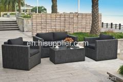 Outdoor furniture textile sofa