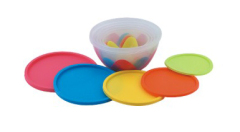 5Pcs Plastic Bowl Set