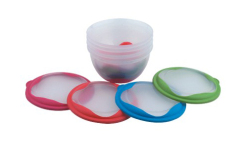4Pcs Mini Plastic Bowl Set
