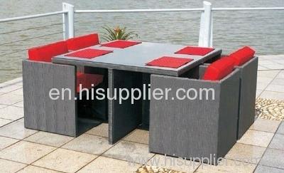 Garden fabric furniture