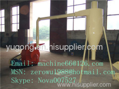 Straw crusher for biomass briquette making