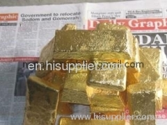 Alluvial Gold Dust from Ghana