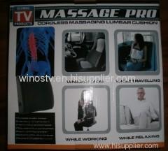 Massage Pro Massaging Lumbar Cushion