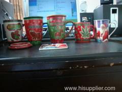 ceramic glazed christmas gift mug