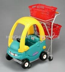 supermarket kids shopping cart