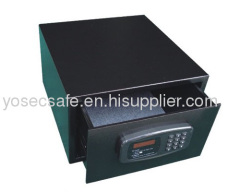 Security Hotel Drawer Safe/ fron opening safe fuuniture for hotel and home use