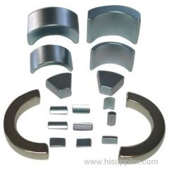 neodymium motor arc segment magnet