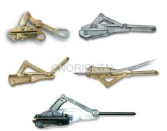 Self gripping come along clamps