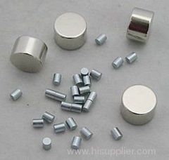 round sintered neodymium anisotropic motor magnet
