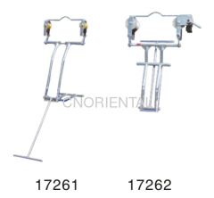 aluminum alloy single conductor line inspection trolleys