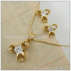 hot 18k gold plated earring